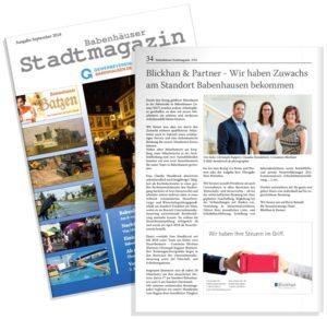 Babenhausen Stadtmagazin 9/2018